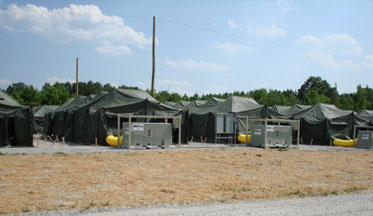 Army Trailer Mounted Air Conditioner